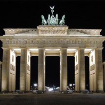 Night on Brandenburg Gate