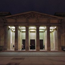 Neue Wache Unter den Linden / New Guardhouse - war memorial at night