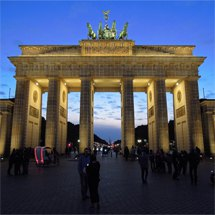 Brandenburger Tor / Brandenburg Gate at the blue hour