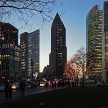 Potsdamer Platz at Christmas time