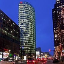 Potsdamer Platz at the blue hour