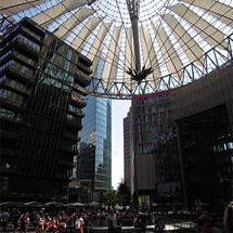 In the Sony Center
