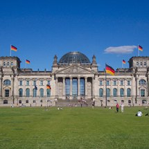 Reichstag building in 2005