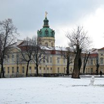 Charlottenburg Palace in winter