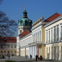 East wing of the Charlottenburg Palace