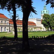 View to the orangerie of Charlottenburg Palace