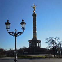 Victory Column on the Big Star in Berlin-Tiergarten